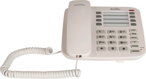 binatone-acura-1000-white-colour-corded-home-desk-telephone-adjustable-ringer-volume