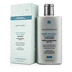 Skin Ceuticals Sheer Physical UV Defense SPF 50 - Limited Edition Size 125ml/4. 2oz