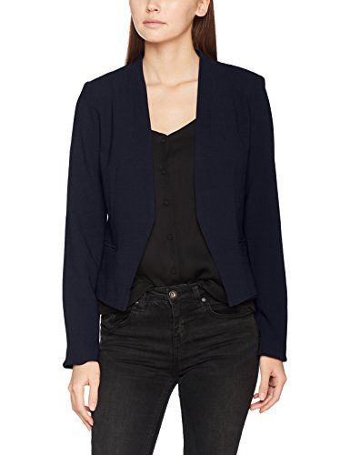 Damen Kleid Schuhe Blau Navy (VILA CLOTHES Damen Vimaika Blazer, Blau (Dark Navy Dark Navy), 42)