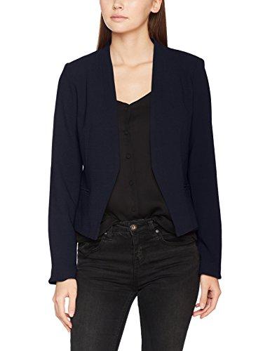 VILA CLOTHES Damen Vimaika Blazer Blau (Dark Navy Dark Navy), 40 (Kleid Blazer Jacke)