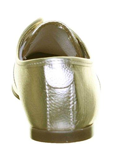 Justin Reece Carmen, Gold Chaussures À Lacets Pour Femmes