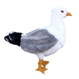 ADORE 12 Standing Sandy the Seagull Plush Stuffed Animal Toy by Adore Plush Company
