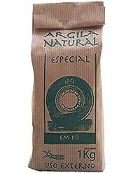 Argila Natural Em Pó - Französische Grüne Tonerde - Pulver für Masken und Peelings - 100 % natürlich - 1 kg (1 kg)