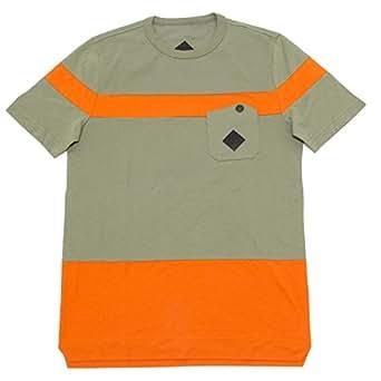 MONCLER 4440I Maglia Uomo Verde Manica Corta maglie t-Shirts Men [S]
