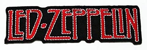 Led Zeppelin Rock Music Band Logo Iron on Patch Great Gifr for Men and Women By BIG UK
