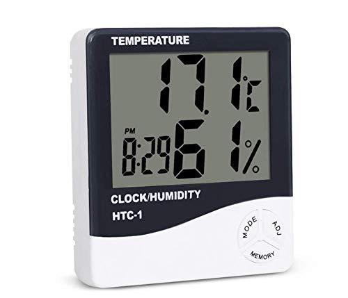 Igrometro Termometro da Interno con Touchscreen E Retroilluminazione Jumbo, Indicatore di umidità del Termometro Ambiente per La Cantina della Serra di Casa