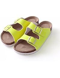 YMFIE Calzatura spiaggia piscina scarpa ladies estate mare e antislittamento piedi confortevoli traino punta antislittamento ciabattine,37,bianco