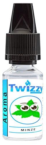 10ml Twizzy Minze Aroma | Aroma für Shakes, Backen, Cocktails, Eis | Aroma für Dampf Liquid und E-Shishas | Flav Drops | Ohne Nikotin 0,0mg