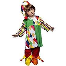 Disfraz de Arlequina para niñas en varias tallas