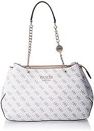 Guess Womens Satchel Bag, White - SG767109