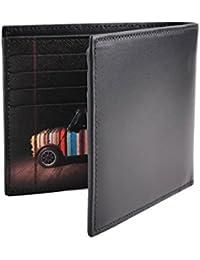 Paul Smith ARPC-4832-W718P-B - Billetera Interior para Hombre (Piel), diseño de Rayas, Color Negro