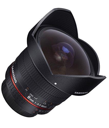 Samyang 8mm F3.5 CS II Objektiv für Nikon AE - 5