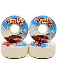 BONES WHEELS (JEU DE 4) STF V3 FELLERS HOT WHEEL 54MM