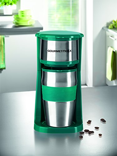 GOURMETmaxx 03103 Coffee Machine with Thermo Cup, 750 W
