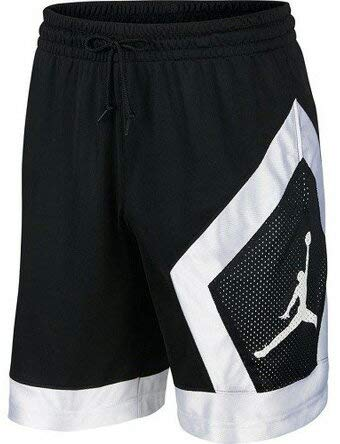 Jordan Bermudas Jumpman Diamond Negro M Medium