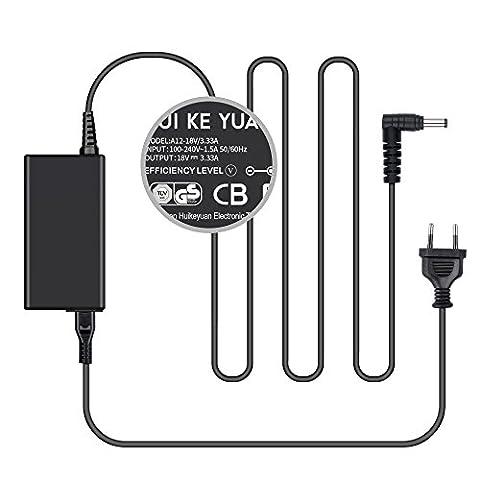 [TUV GS LISTED] HUIKEYUAN 18V 3,33A Lautsprecher Netzteil Ladegerät AC Adapter Ladekabel für Beats By Dr Dre Beatbox