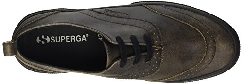 Superga Herren 2332-Fglcrackm Pumps Nero (Full Black)