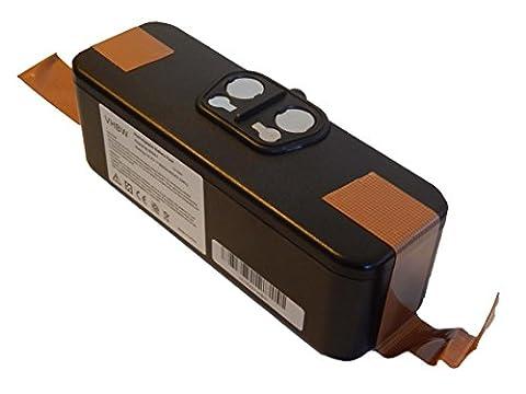 vhbw Li-Ion Akku 3000mAh (14.4V) für Staubsauger Saugroboter iRobot Roomba 866, 886, 900, 980 wie 11702, GD-Roomba-500, VAC-500NMH-33.