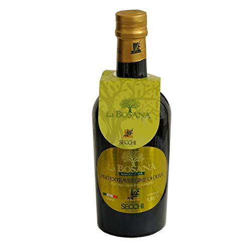 Olio extra vergine di oliva monocultivar la bosana 500ml