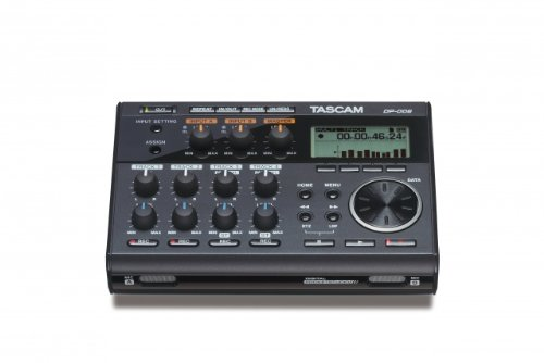 TASCAM DP-006 REGISTRADOR DE INSTRUMENTO MUSICAL - ACCESORIO DE AUDIO (10000 OHMIO  81 DB  0 05%  20 - 20000 HZ  3 5MM  NEGRO)