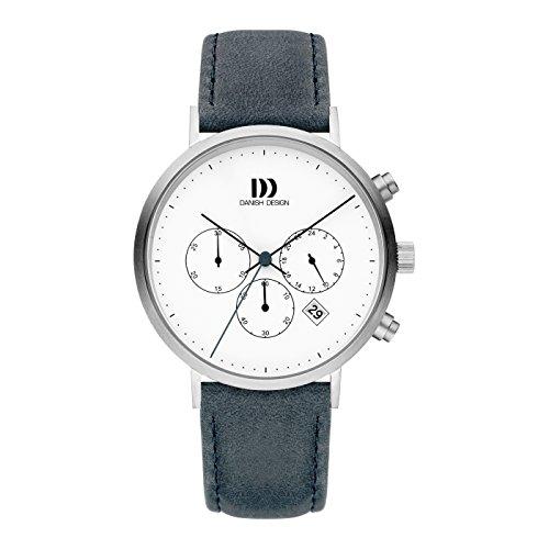 Danish Design Reloj Cronógrafo para Hombre de Cuarzo con Correa en Cuero IQ22Q1245