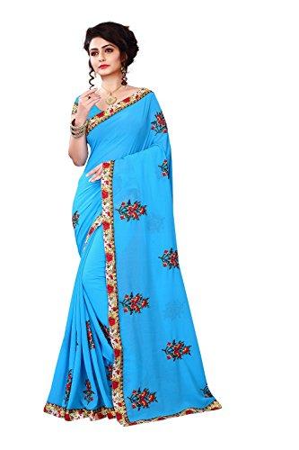 Bhavna Cretion brand collection white designer sarees with blouse piece
