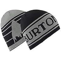 Burton Billboard Gorro, Niños, Negro (True) / Gris (Monument), Talla Única