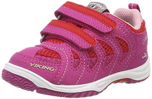 Viking Unisex-Kinder Cascade II GTX Cross-Trainer, Pink (Magenta/red 9610), 30 EU
