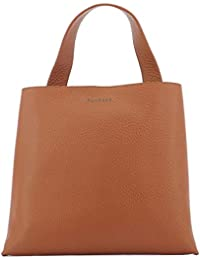 011be39afe Orciani Borsa A Mano Donna B02031SOFTBROWN Pelle Marrone