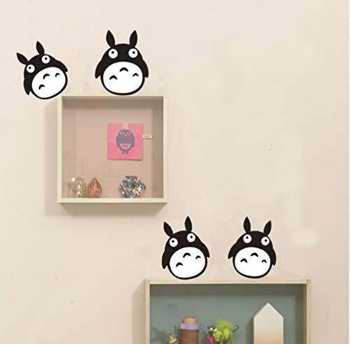 kdjshhs Wandaufkleber DIY Nette 3D Cartoon Mein Nachbar Totoro Schalter Kühlschrank Auto Aufkleber Vinyl Wandaufkleber Kinderzimmer Dekoration Geschenke Poster
