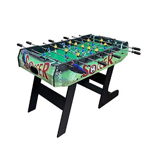 YQSHYP Klapptisch Fußball, Freistehende Fußball-Tabelle Spiel-Fußball-Maschine Sport Entertainment Spieltisch Größe 80 * 63 * 120 cm