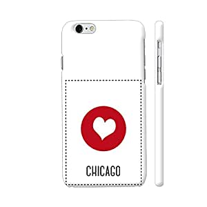 Colorpur iPhone 6 Plus / 6s Plus Cover - I Love Chicago Printed Back Case