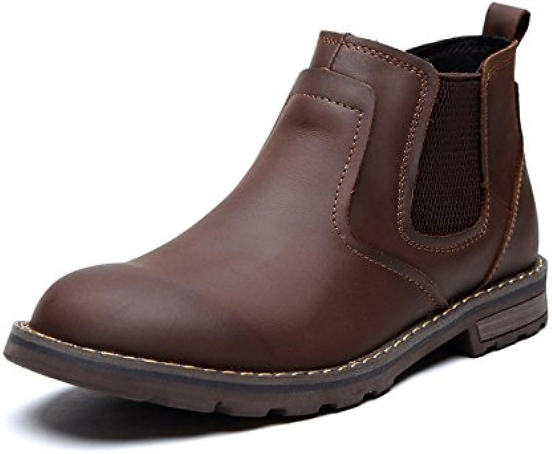 die britische mode   schuhe  stiefel  martin stiefel england schuhe retro   stiefel brown 38