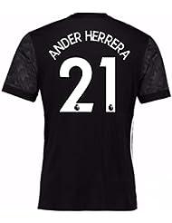 2017-18 Man Utd Away Adidas Shirt (Ander Herrera 21)