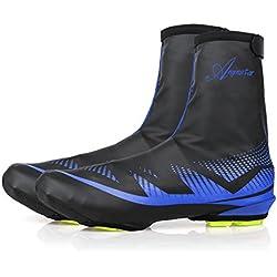 Shinmax Couvre-Chaussures, Sports de Plein air Couvre-Chaussures de Vélo Couvre-Chaussures Imperméables, Chauffe-Chaussures Couvre-Chaussures pour Les Cyclistes