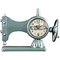 Máquinas De Coser Creativa Relojes De Hierro De Estilo Retro,Blue