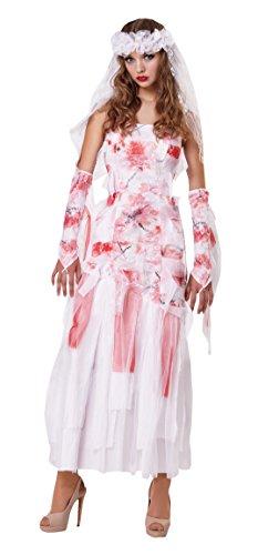 Bristol Novelty AF007 Grab Braut Kostüm