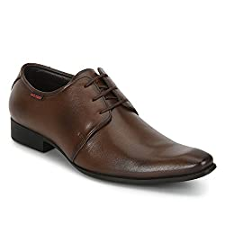 Red Chief RC3532 006 TAN FORMAL SHOES