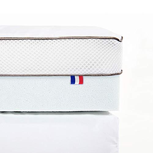 ViscoSoft - Surmatelas Duo 8cm | Fabriqué en France |...