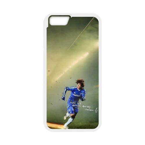 David Luiz coque iPhone 6 4.7 Inch Housse Blanc téléphone portable couverture de cas coque EBDXJKNBO13340