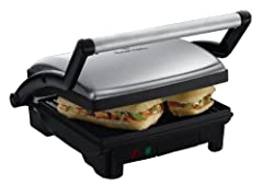 Idea Regalo - Russell Hobbs 17888-56 Scalda Panini/Grill 3 in 1, 1800 Watt, Acciaio Inossidabile, Multicolore