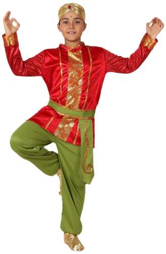 Atosa Disfraz de hindú para niño, talla 7-9 años (8422259158462)