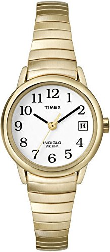 timex-womens-t2h351-quartz-watch-with-white-dial-analogue-display-and-gold-plated-bracelet