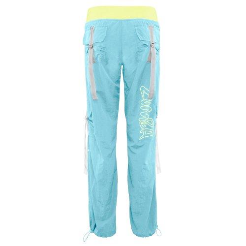 Elegant Zumba Fitness Women S Electro Cargo Pant Lollipop Medium Rockin Pants
