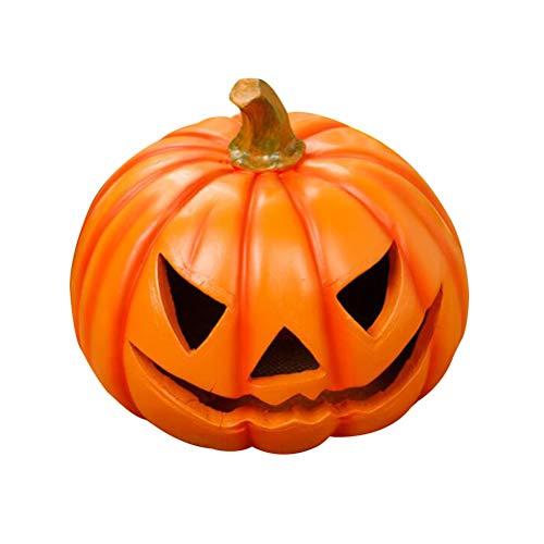 Gefälschte Kürbisse des Mobestech-Halloween-Kürbisverzierungsharzhandwerks für Halloween-Partei bevorzugt Erntedankfestdekorationen