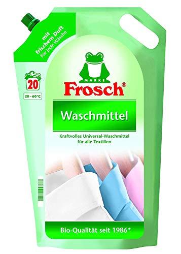 Frosch Flüssig Universal Waschmittel 5x1800ml