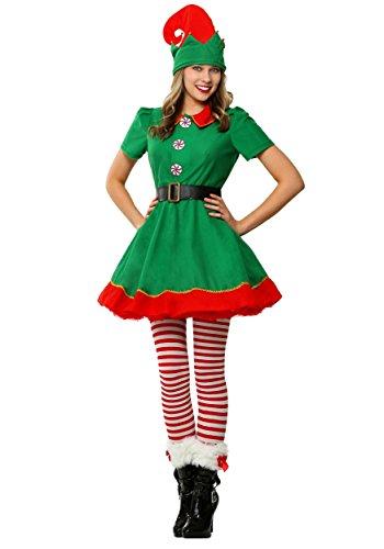 Womens Holiday Elf Plus Size Fancy Dress Costume 4X (Plus Kostüm Size Elf)