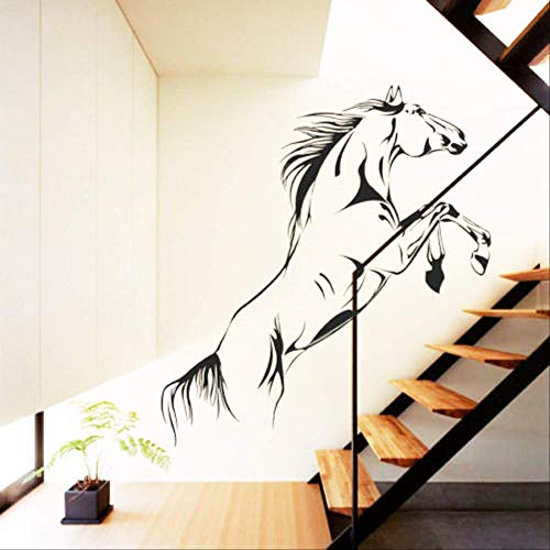 Springende Pferdepeitsche Indoor-Trend Tagungsraum Glas Wohnzimmer WohnkulturPvcWandaufkleber