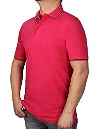 3987730234e940 Polo K I T A R O Poloshirt Extra Lang, Kurzarm mit Knopfleiste, in Extralang  (Extra Langer Rumpf