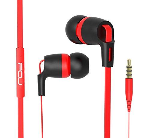 In ear cuffie fou auricolari con filo 3.5mm vivavoce cuffie con microfono con doppio alroparlante stereo per smartphone tablet mp3 dispositivi ios o android